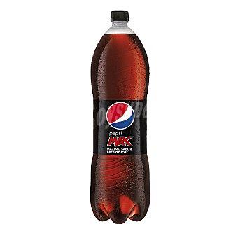 Pepsi Refresco de cola Max Zero Azúcar Botella 2 litros