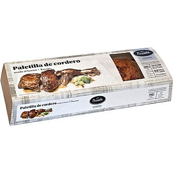 BONVEHI Paletilla de cordero asada al horno 3 raciones Caja 1 kg