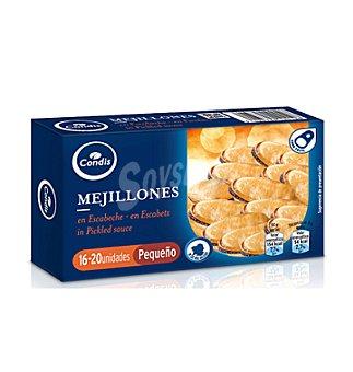 Condis Mejillones en escabeche de . 115 g 16/20 UN