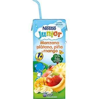 Junior Nestlé Smoothie de manzana-plátano-mango Brik 200 ml
