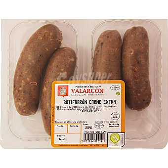 Valarcon Butifarrón de carne peso aproximado Bandeja 300 g