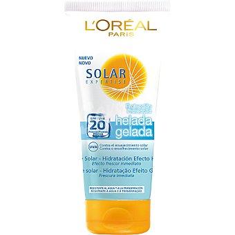 Solar Expertise L'Oréal Paris leche solar Icy Protect FP-20 efecto frescor inmediato resistente al agua tubo 200 ml
