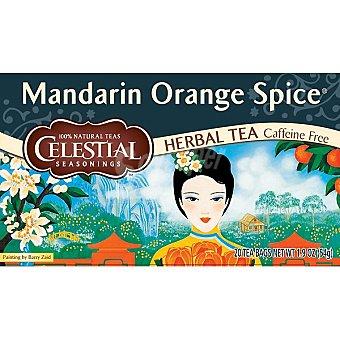 Celestial Seasonings té descafeinado Mandarín Orange Spice envase 20 unidades Envase 20 unidades