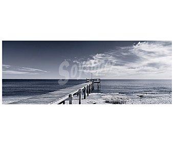 IMAGINE Lámina con la imagen de un puente de madera sobre el mar y dimensiones de 45x120 centímetros 1 unidad