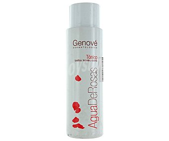 Genové Loción tónica con pétalos de rosas hidratante y calmante, 500ml