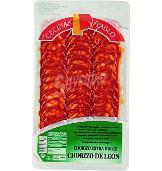 Pablo Chorizo de León dulce en lonchas 100 g