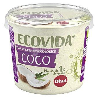 Dhul Yogur semidesnatado de coco ecológico Dhul Ecovida 250 g