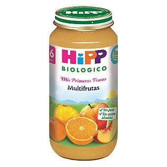 HIPP BIOLOGICO Tarrito de multifrutas ecologico desde 4 meses envase 250 g