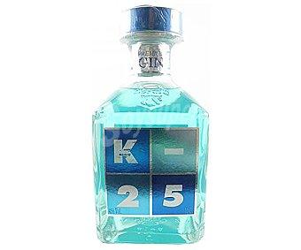 K-25 Ginebra premium de triple destilación y elaborada en España Botella de 70 cl