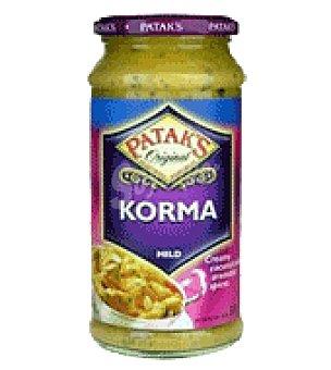 Patak's Salsa Curry suave korma 400 g