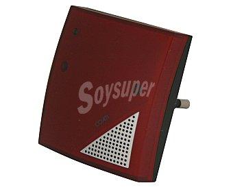 COATI Anti-Insectos por ultrasonidos, incorpora luz guia, eficaz hasta 25 metros cuadrados. Interruptor de funcionamiento y consumo 0.4W 1 unidad