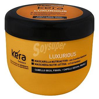 Les Cosmétiques Mascarilla capilar elixir con 3 aceite fabulosos Luxurious Kera Science 300 ml