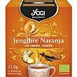 Té Jengibre Naranja 21,6 g Yogi Tea