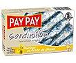 Sardinas en aceite de girasol 90 gr Pay Pay