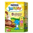Papilla 8 cereales con cacao 600 gr Nestlé