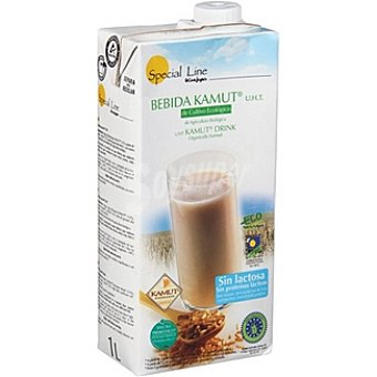 Special Line Bebida de kamut ecológica UHT prebiótica sin lactosa Envase 1 l