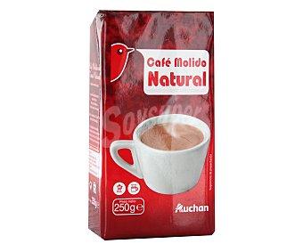 Auchan Café molido de tueste natural 250 gramos