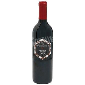 SEÑORIO DE ONDAS Vino tinto roble D.O. Toro Botella 75 cl