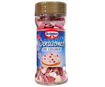 Dr. Oetker Corazones de colores para confitería 40 gramos