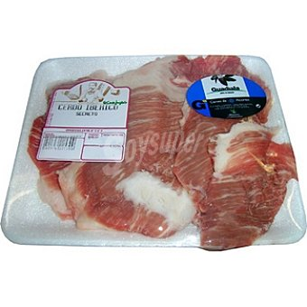 Guadiala Secretos frescos de cerdo ibérico peso aproximado Bandeja 400 g
