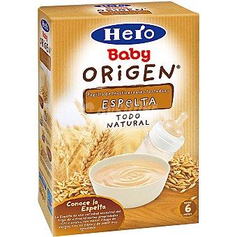 Hero Baby Papilla de multicereales tostados y espelta todo natural Origen