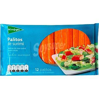 El Corte Inglés Palitos de surimi sabor marisco 12 unidades (200 g)