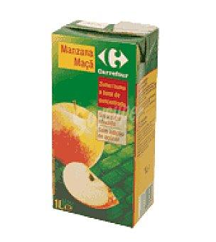 Carrefour Zumo manzana 1 brik de 1 l