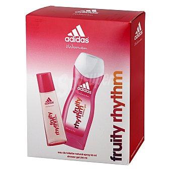 Adidas Pack colonia + gel de ducha fruity rhythm 1 ud