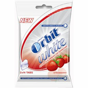 Orbit Chicles de fresa Tabs Paquete 2 unid