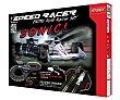 Pista de carreras eléctrica Speed Racer con efectos de sonido, incluye 2 coches TOY  Hobby toy