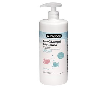 Suavinex Gel y champú espumoso con pH 5.5 750 ml