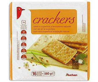 Auchan Crackers Salados 560 Gramos