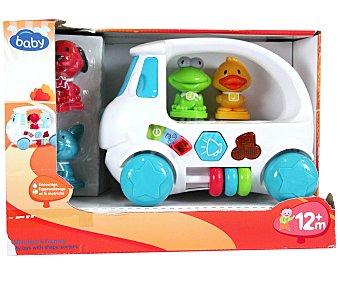 BABY Vehículo con Animales, Actividades, Luces y Sonidos 1 Unidad