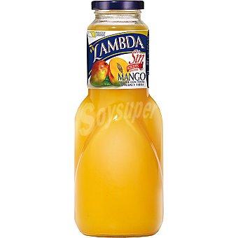 Lambda Zumo de mango botella 1 l 1 l