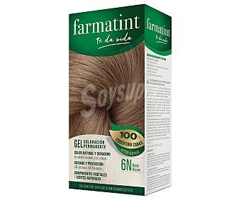 Farmatint Tinte de color rubio oscuro nº 6N color duradero y brillante en un cabello sano 1 unidad