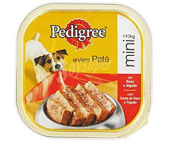 Pedigree Comida Húmeda para Perro de Buey Tarrina de 300 Gramos
