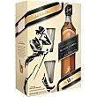 Whisky Black Botella 70 cl + 2 vaso Johnnie Walker