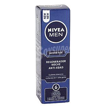 Nivea For Men Regenerador antiedad noche 50 mililitros
