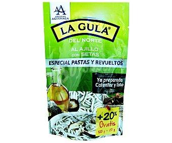 Angulas Aguinaga Gula del norte fresca con setas Bolsa 125 g