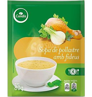 Condis Sopa de pollo con fideos finos 80 G