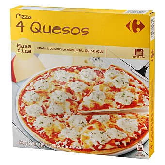 Carrefour Pizza 4 quesos 340 G 340 g