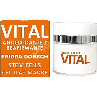 FRIDDA DORSCH Vital Tratamiento antioxidante y reafirmante con células madre vegetales Tarro 50 ml