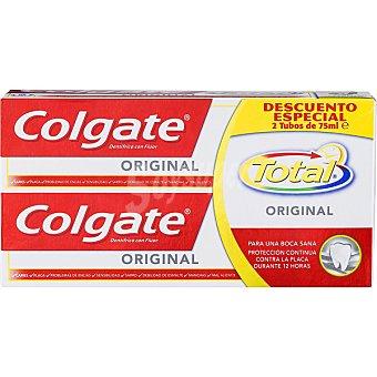 Colgate Total Pasta de dientes pack 2 tubo 75 ml Pack 2 tubo 75 ml