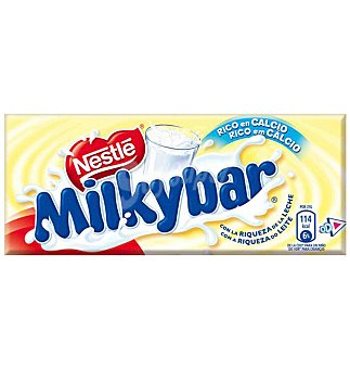 Nestlé Chocolate  blanco nestle milkiba 75 GRS
