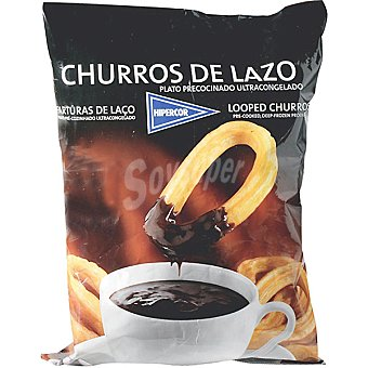 HIPERCOR churros de lazo bolsa 500 g
