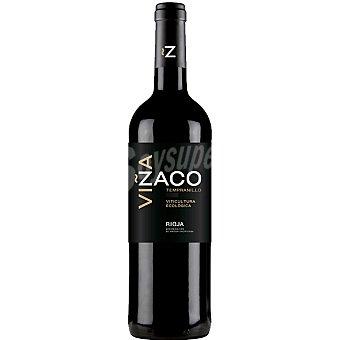 VIÑA ZACO Vino tinto joven tempranillo D.O. Rioja botella 75 cl