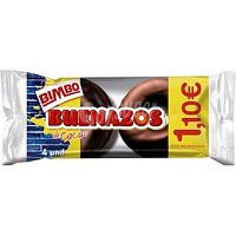 Bimbo Buenazos de cacao 4 unid