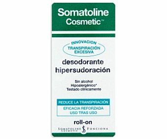 Somatoline Cosmetic Desodorante en roll-on especial para la hipersudoración 30 mililitros