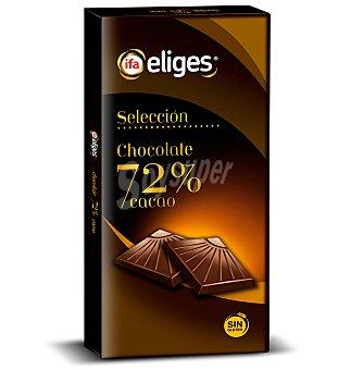 ifa eliges Chocolate negro 72% 100 g