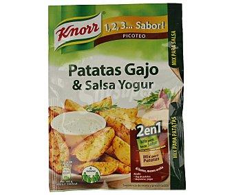 Knorr Patatas gajo & salsa de yogur Sobre de 47 g
